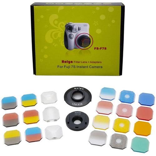 Holga FS-F7S Creative Filter & Lens Kit for Fuji Instax Mini 7s
