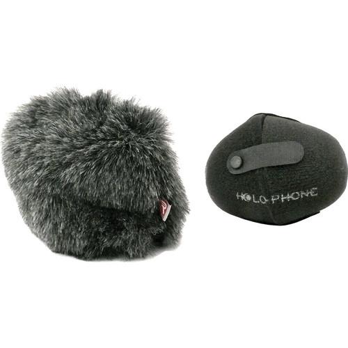 Holophone PortaMic Windscreen and Rycote Fuzzy