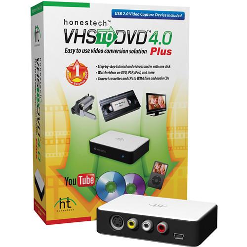 Honest Technology VHS to DVD 4.0 Plus