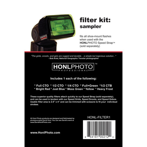 Honl Photo Filter Kit: Sampler