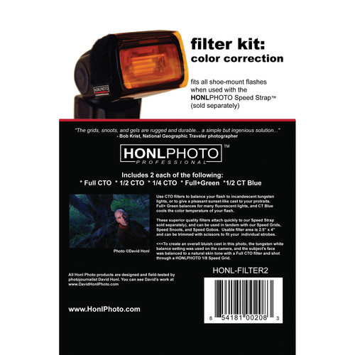 Honl Photo Color Correction Filter Kit for Honl Photo Speed System
