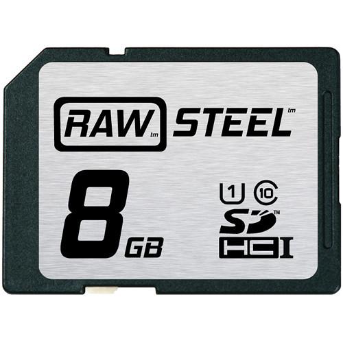 Hoodman 8GB SDHC Memory Card RAW STEEL Class 10 UHS-1