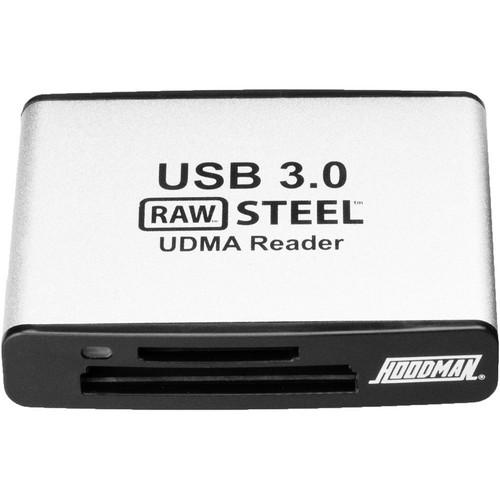 Hoodman USB 3.1 Gen 1 UDMA Reader