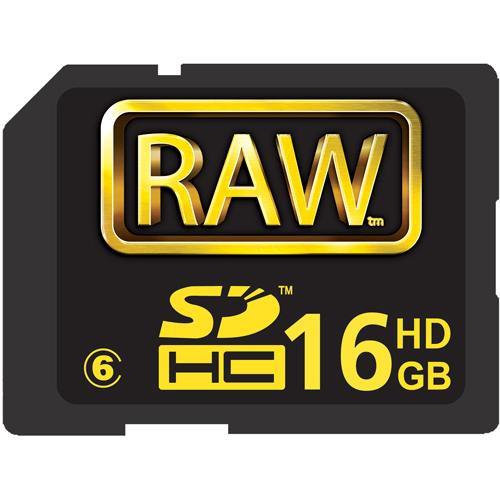 Hoodman 16GB RAW SDHC Memory Card