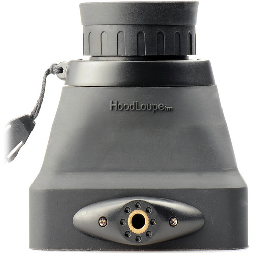"Hoodman Compact HoodLoupe Optical Viewfinder for 3.2"" LCD Screens"