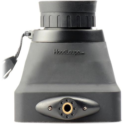 "Hoodman Compact HoodLoupe Optical Viewfinder for 3.2"" LCD Screens"