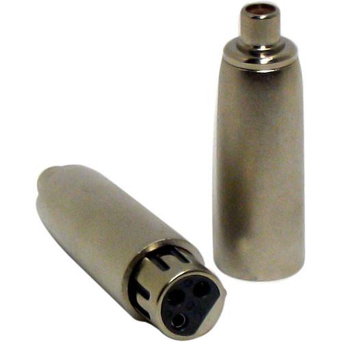 Horita AK2 RCA to XLR Adapter Kit - 1 RCA Female to XLR Female, 1 RCA Female to XLR Male