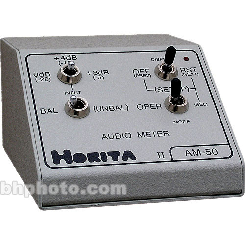 "Horita AM-50 ""On Screen"" Audio Meter"