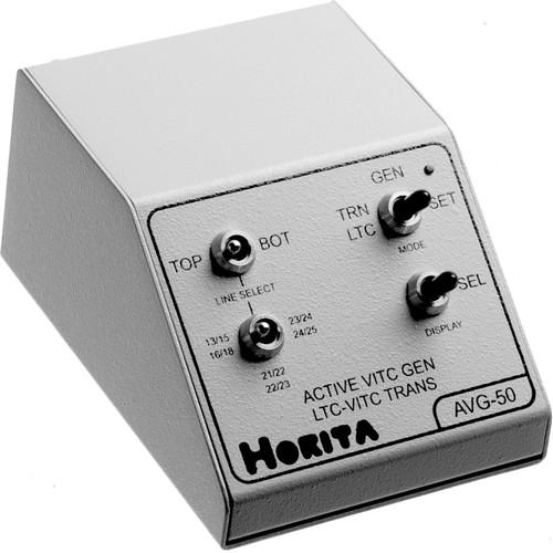 Horita AVG-50 Active VITC (Vertical Interval Time Code) Generator, Composite, NTSC