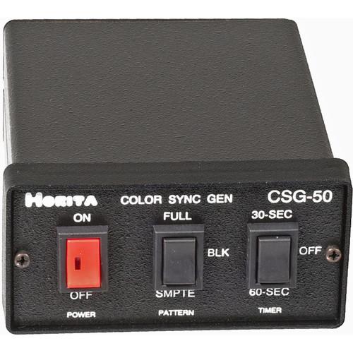 Horita CSG-50 Color Bar / Black Burst / Sync / Audio