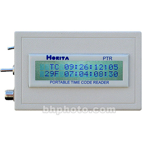 Horita PTR Portable Time Code Reader
