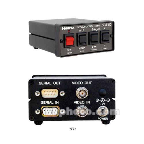 Horita SCT-50 PC Serial Control Rack Mount Titler