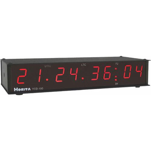Horita TCD-100 VITC / LTC Reader and LED Display, Composite