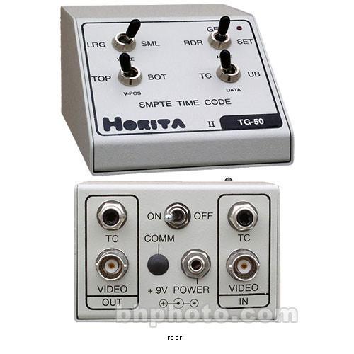 Horita TG-50RM SMPTE LTC Reader / Generator