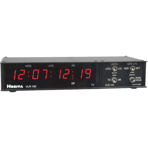 Horita VLR-100PC Time Code Read/Gen/Display RS-232