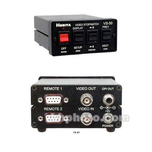Horita VS-50RM Video Stopwatch
