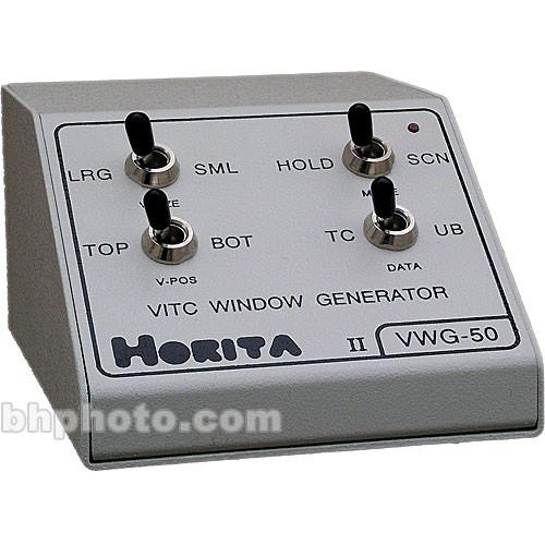 Horita VWG-50 VITC Time Code Reader / Window Inserter