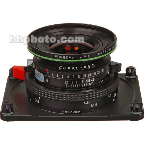 Horseman 35mm f/4.5 Apo-Grandagon Lens Unit for 612