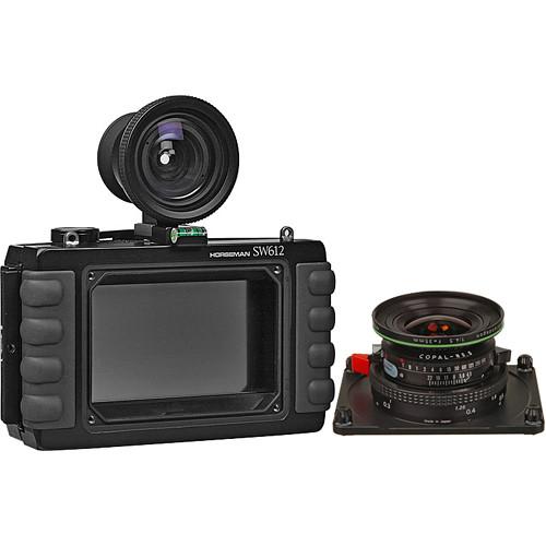 Horseman SW-612 Medium Format Panorama Camera w/ 35mm Apo-Grandagon Lens & 6x12 Back