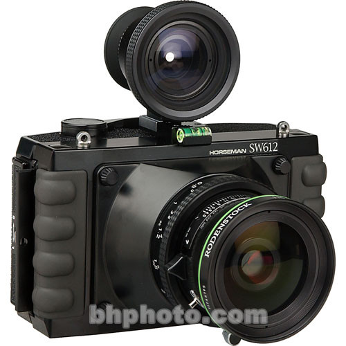 Horseman SW-612 Medium Format Panorama Camera w/ 55mm Apo-Grandagon Lens & 6x12 Back