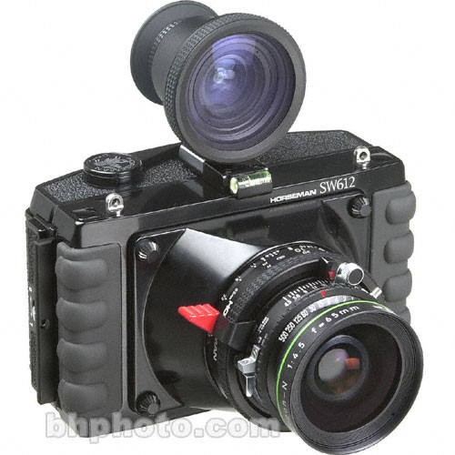 Horseman SW-612 Medium Format Panorama Camera w/ 65mm Grandagon-N Lens & 6x12 Back