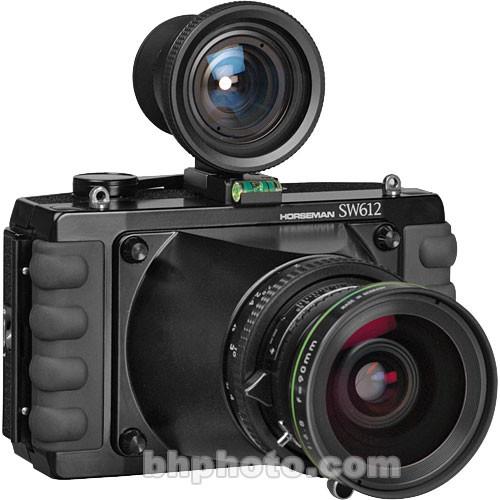 Horseman SW-612 Medium Format Panorama Camera w/ 90mm f/6.8 Grandagon-N Lens & 6x12 Back