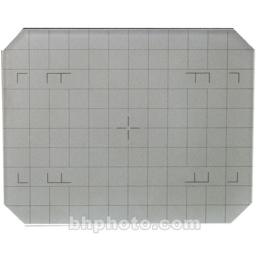 Horseman 4x5 Groundglass Focusing Screen with Grid Lines