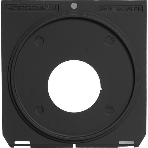 Horseman Lensboard for Linhof, Wista, Horseman, Gandolfi & Other Cameras with 96 x 99mm Linhof Technika-type Lensboard Specifications - Copal/Compur #0
