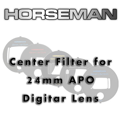 Horseman Center Filter for the 24mm APO Digitar Lens