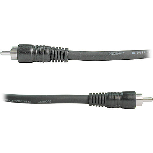 Hosa Technology RCA Male to RCA Male Cable - 5 ft