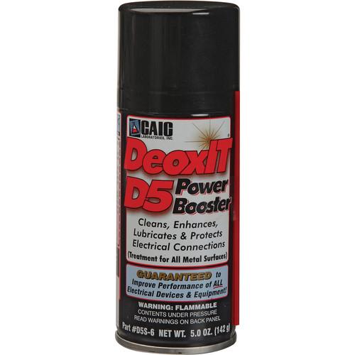 CAIG Laboratories DeoxIt - Strong Deoxidizer Spray (Maximum Strength) (5 oz)