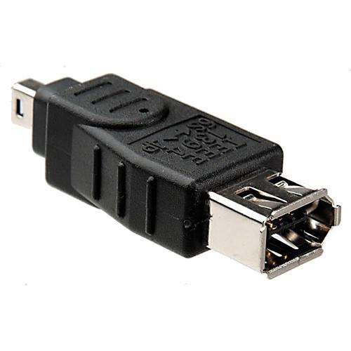Hosa Technology 6-Pin to 4-Pin FireWire Adapter
