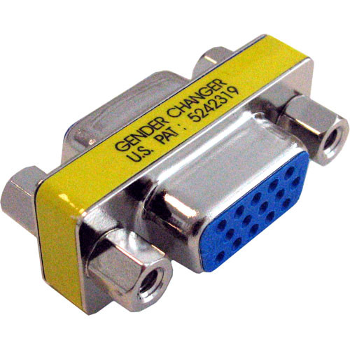 Hosa Technology 15-Pin VGA Female to 15-Pin VGA Female Adapter