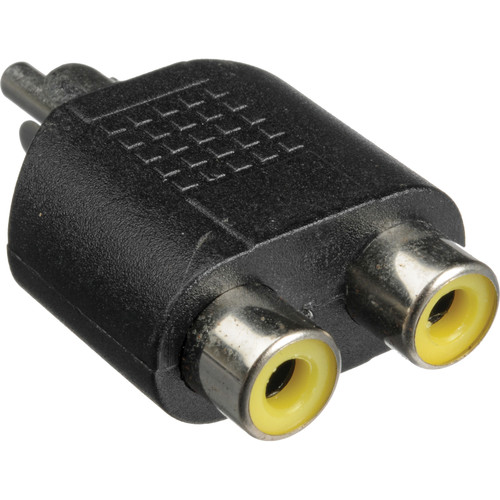 Hosa Technology GRF398 RCA to 2 RCA Adapter