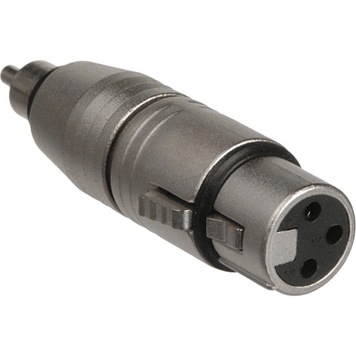 Hosa Technology Audio Cable XLR Female to RCA Male Adapter