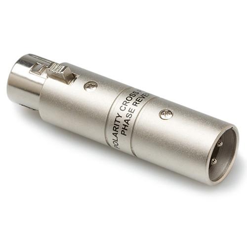 Hosa Technology Audio Adapter XLR Female to XLR Male Polarity Cross Phase Reverser