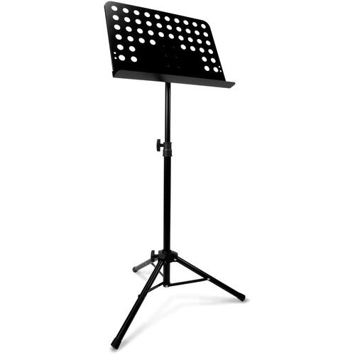 Hosa Technology MUS-439 Adjustable Steel Music Stand (Black)