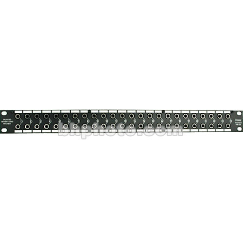 Hosa Technology PHB-350  48-Point Balanced Patchbay