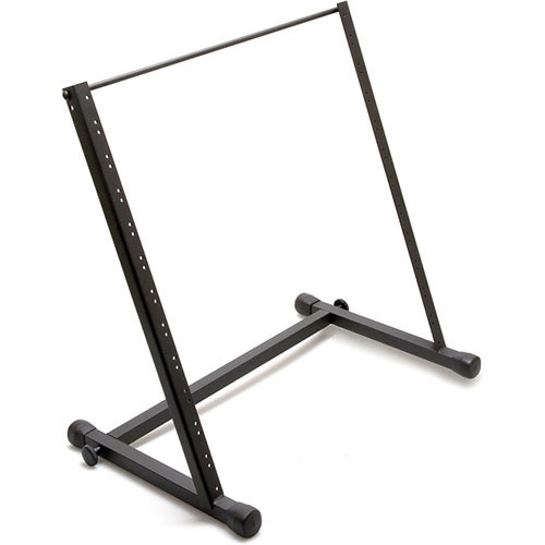 "Hosa Technology 19"" Rack, Table-Top Design, 11 U (Black)"