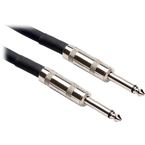 "Hosa Technology SKJ-600 Series 1/4"" TS Male to 1/4"" TS Male Speaker Cable (16 Gauge) - 3'"