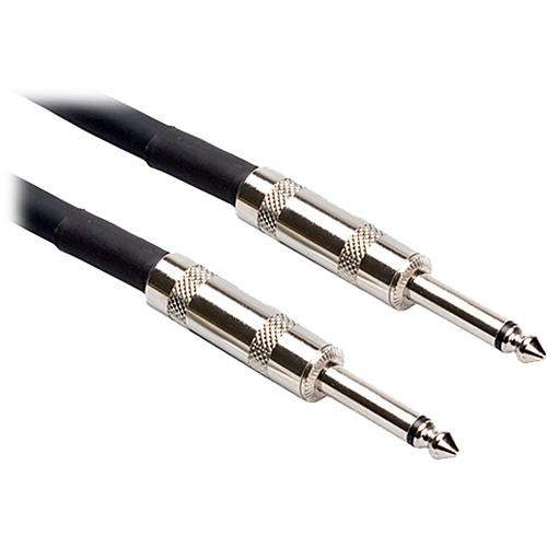 "Hosa Technology SKJ-600 Series 1/4"" TS Male to 1/4"" TS Male Speaker Cable (16 Gauge) - 30'"