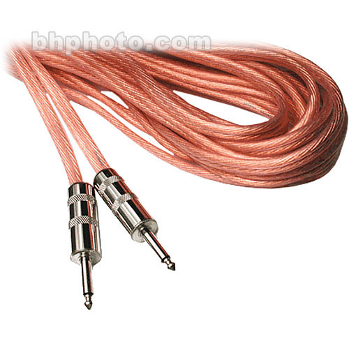 "Hosa Technology 1/4"" Male to 1/4"" Male Speaker Cable (12 Gauge) - 15'"