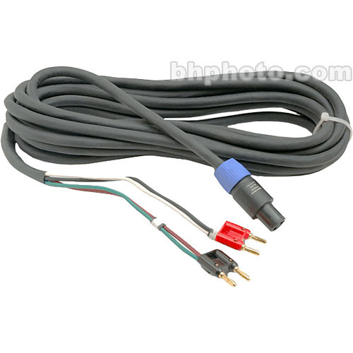 Hosa Technology Speakon to 2x Banana Premium Speaker Cable (14 Gauge, 25')