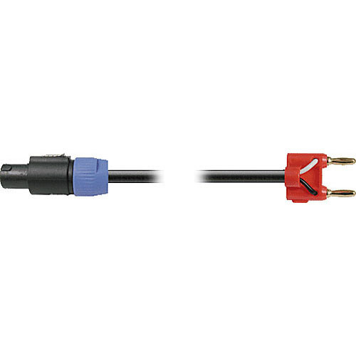 Hosa Technology SKT-600 Series Banana to Speakon Speaker Cable (16 Gauge) - 25'