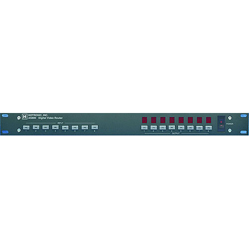 Hotronic AS8004X4 4x4 SDI Video Switcher - BNC, RS-485