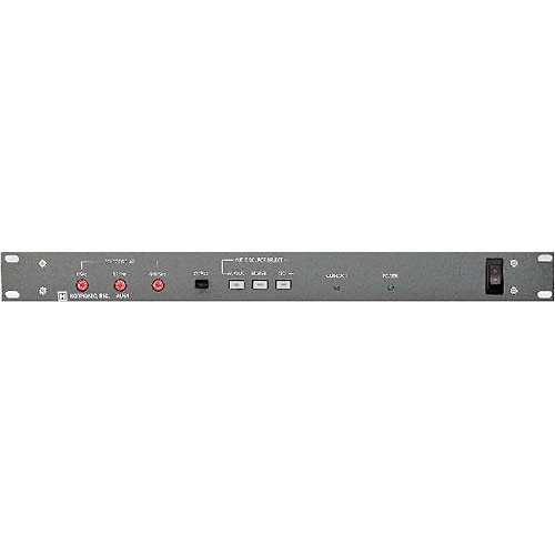 Hotronic AU51 Broadcast Audio Delay - Balanced Stereo Audio XLR, 9.9 Second Delay, NTSC PAL