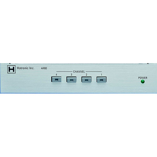 Hotronic AX-83Q 4x1 Video Router / Quad Processor