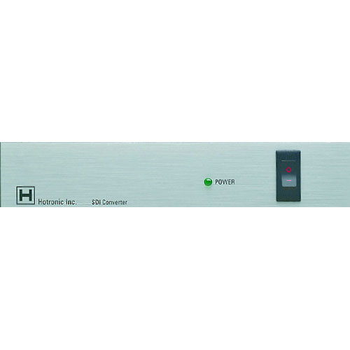 Hotronic Single Channel SDI and AES/EBU Multiplexer (Audio Embedder) - SDI with 4 Channel Embedded Audio Output (BNC), Rackmountable
