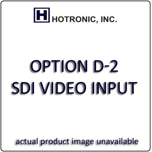 Hotronic OPTION D-2 SDI Video Input