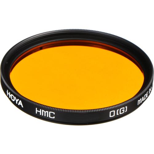Hoya 62mm Orange G (HMC) Multi-Coated Glass Filter for Black & White Film